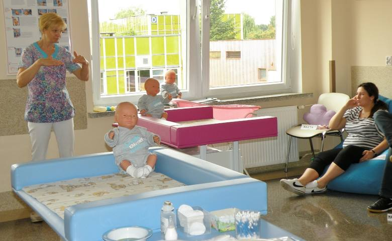 W nowej szkole rodzenia ma być trzy razy więcej miejsca, niż do tej pory. W sumie na potrzeby szkoły będzie przeznaczone prawie 140 m kw. Z czego większość,