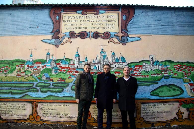 Nowy mural w Lublinie. Stoi za nim były poseł (WIDEO)