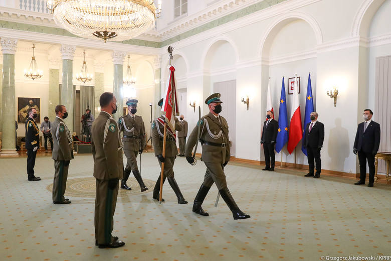 Przemyślanin Robert Inglot generałem Straży Granicznej. 15 maja mianował go prezydent RP Andrzej Duda [ZDJĘCIA]