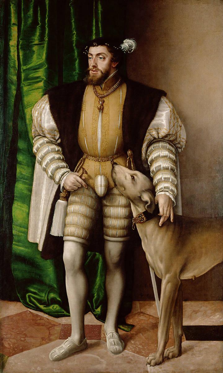 Cesarz Karol V (1500-1558). Jemu i jego synowi, Filipowi II, służył książę Alba