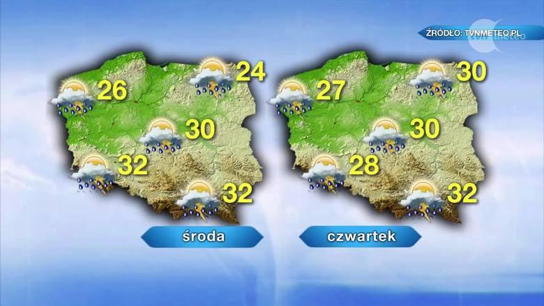 Wrocław zagrożony burzami i gradem. Trzy dni z ostrzeżeniami