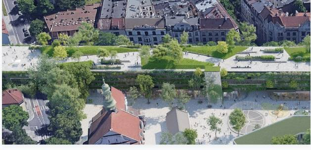 Kraków. Mieszkańcy Grzegórzek mają już dość konsultacji w sprawie zagospodarowania terenu pod estakadami kolejowymi. Chcą tam zieleni