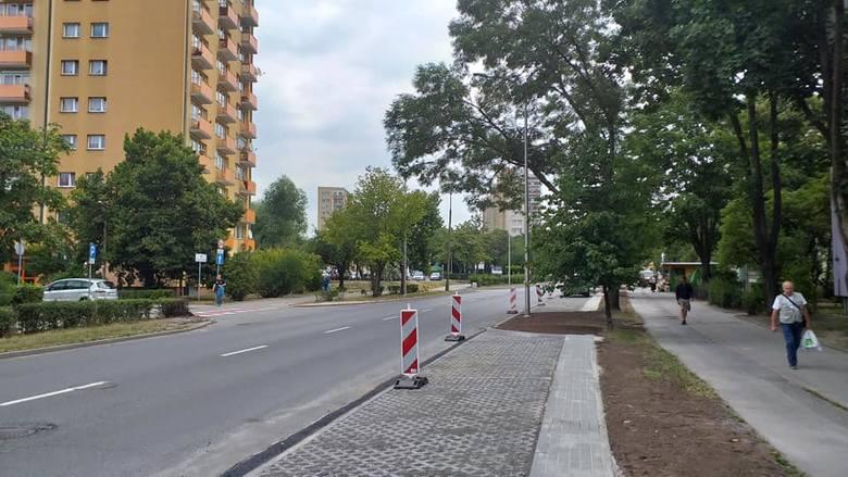 Nowe miejsca parkingowe z pewnością ułatwią nieco życie kierowcom z Chabrów.