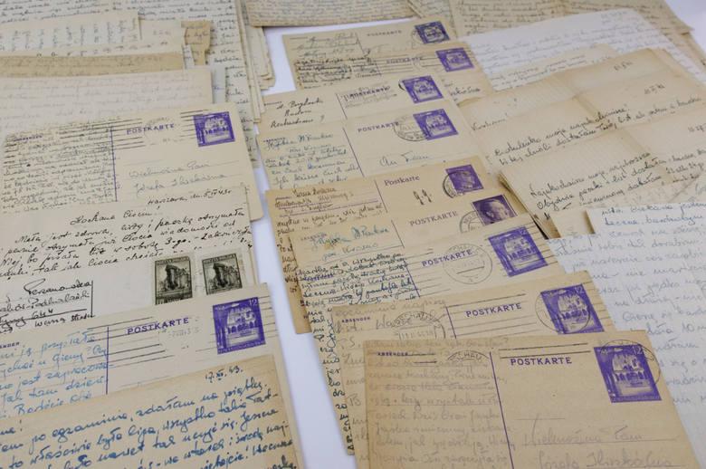 Listy Zofii Perzanowskiej, córki Stefanii, do rodziny z lat 1943-1944.