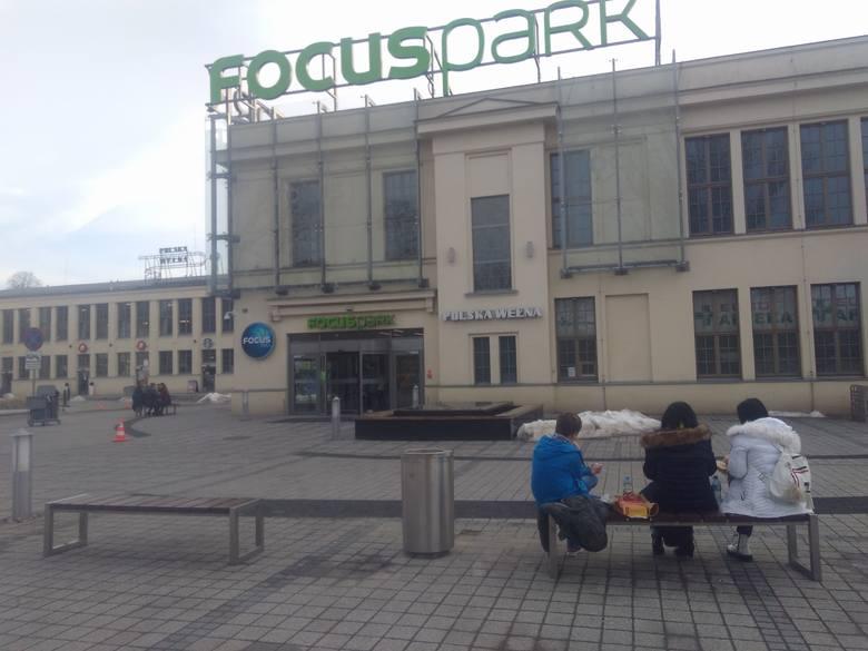 ewakuacja Focus Mall