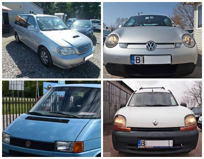 Top 10 najtańszych samochodów na sprzedaż w województwie podlaskim [ZDJĘCIA]