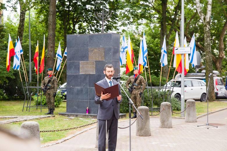 Wielka Synagoga w Białymstoku spłonęła 27 czerwca 1941 roku. Upamiętniliśmy ofiary czarnego piątku