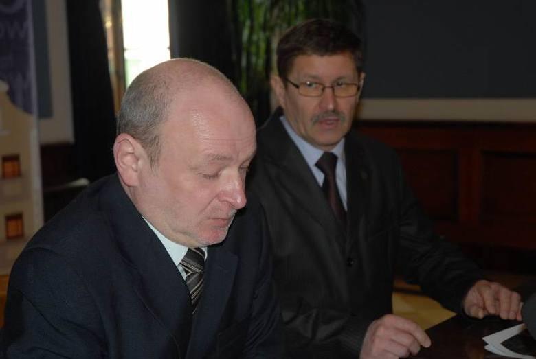 Prezydent Jan Zubowski i jego zastępca Leszek Rybak mają gotowy plan. Teraz muszą go jeszcze zatwierdzić radni miejscy