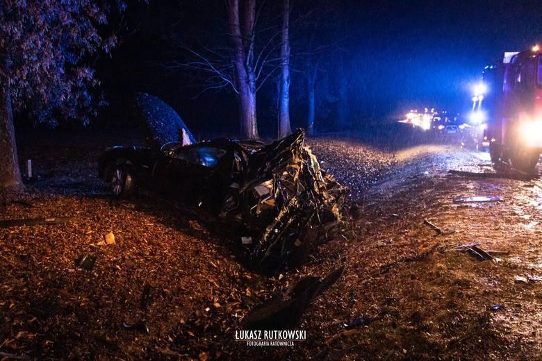 Czechowizna. Śmiertelny wypadek kierowcy bmw. 29-latek zginął na miejscu