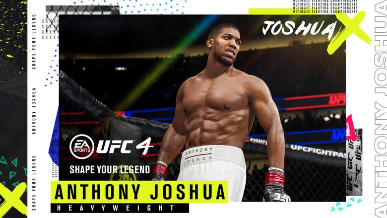 UFC 4 oficjalnie ogłoszone. Do Oktagonu wejdą Joshua i Fury