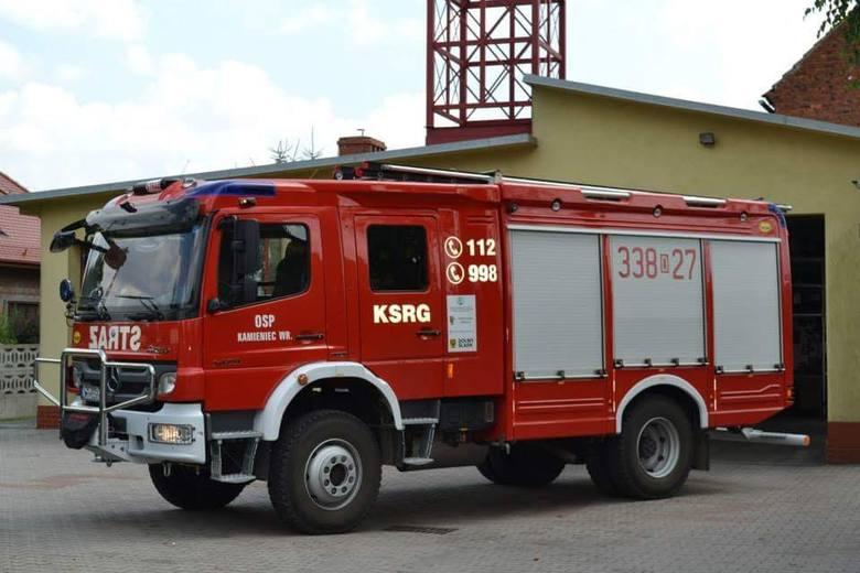 Ochotnicza Straż Pożarna w Kamieńcu Wrocławskim