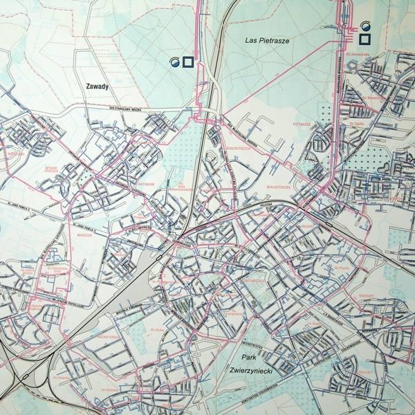 Tak wygląda sieć wodociągowa naszego miasta na planie