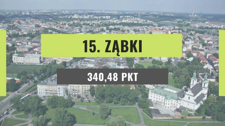 ranking miast 2020
