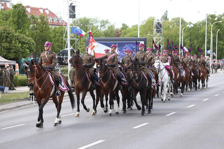 Defilada wojskowa 3 maja, Warszawa 2019