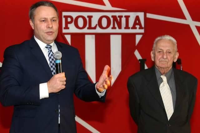 Prezydent Bydgoszczy Rafał  Bruski oraz Władysław Gollob