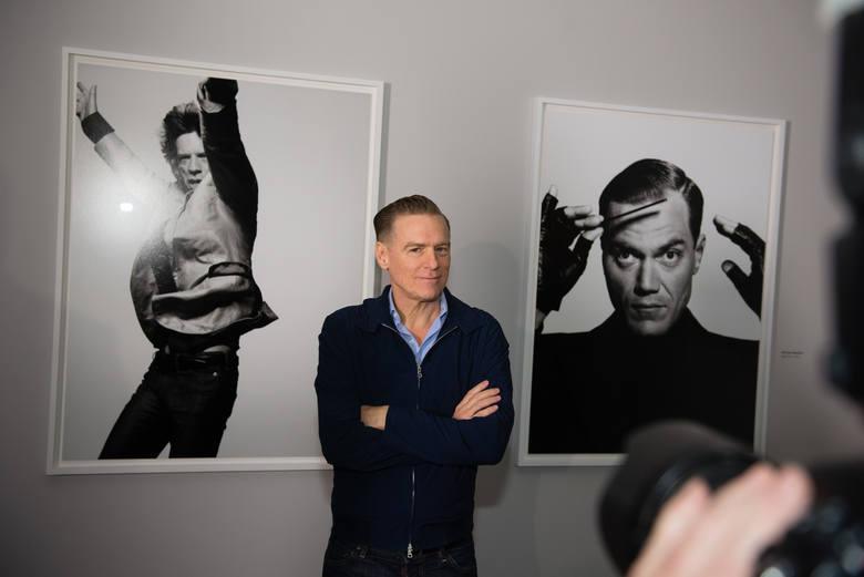 Otwarcie wystawy Bryana Adamsa w Centrum Sztuki Współczesnej w Toruniu.