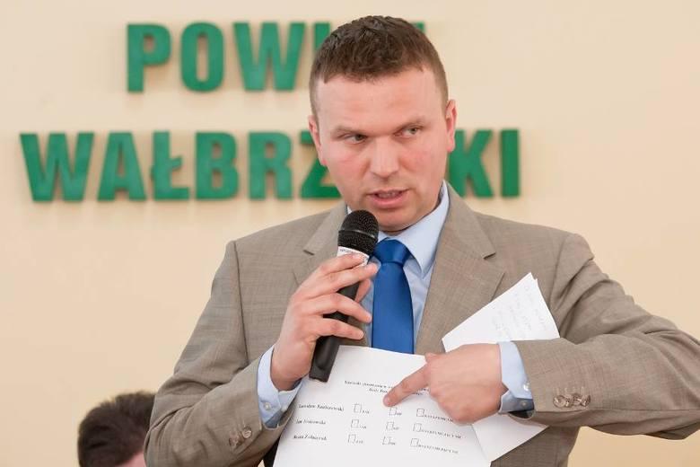 Radny Arkadiusz Mucha nie ma sobie nic do zarzucenia