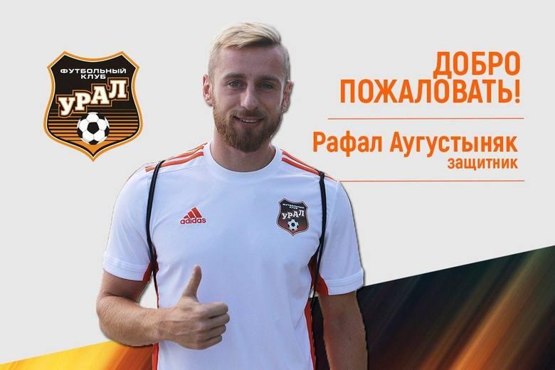 Rafał Augustyniak odszedł do ligi rosyjskiej