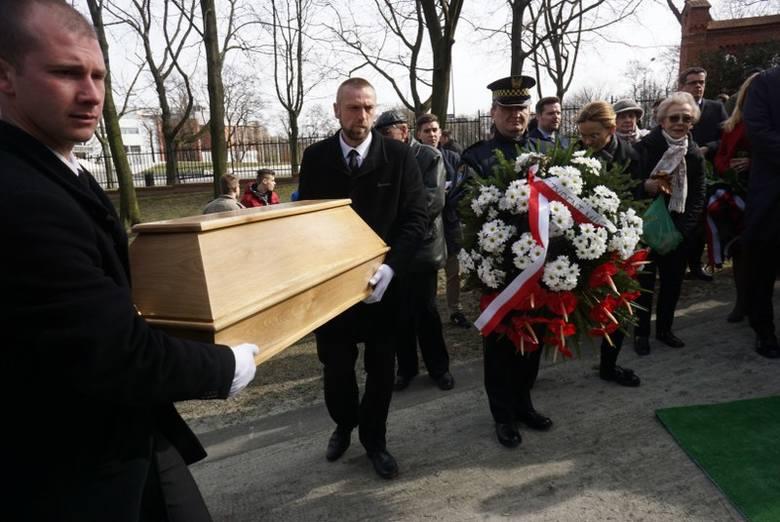 Roger Sławski na cmentarzu Zasłużonych Wielkopolan