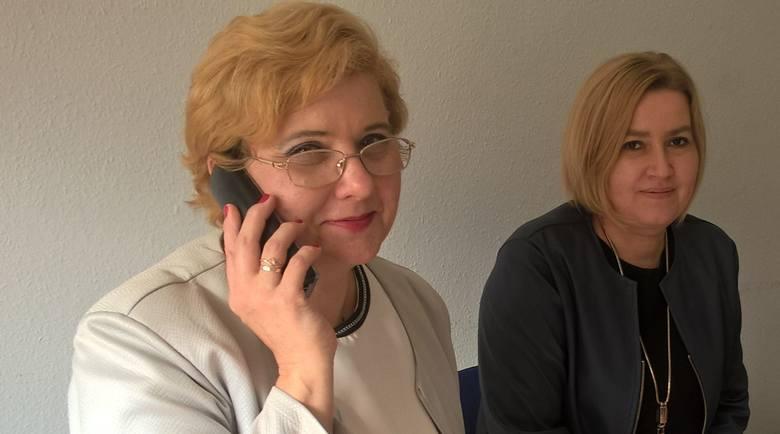 Na pytania odpowiadały Czytelników w sprawie 500 plus dla osób niepełnosprawnych odpowiadały: Iwona Babińska, zastępca naczelnika Wydziału Świadczeń