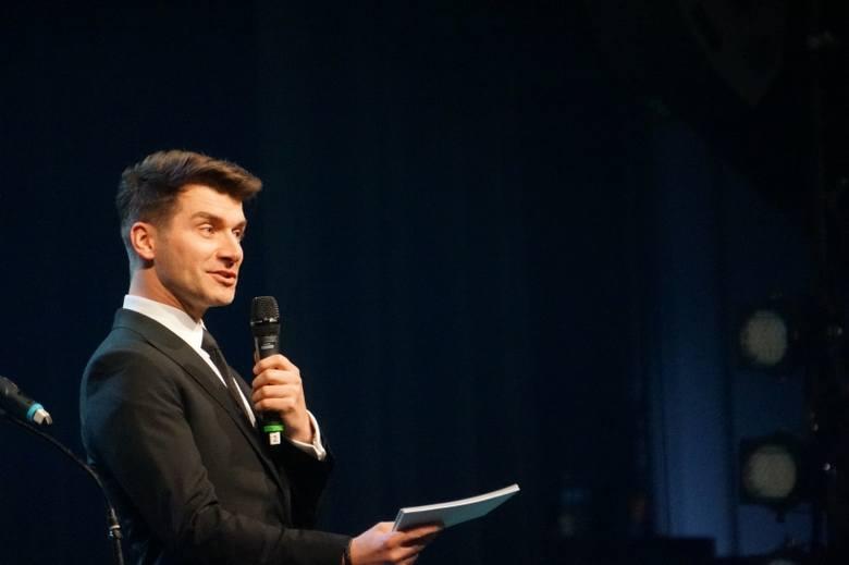 Galę Podlaskiej Marki Roku prowadził Tomasz Kammel