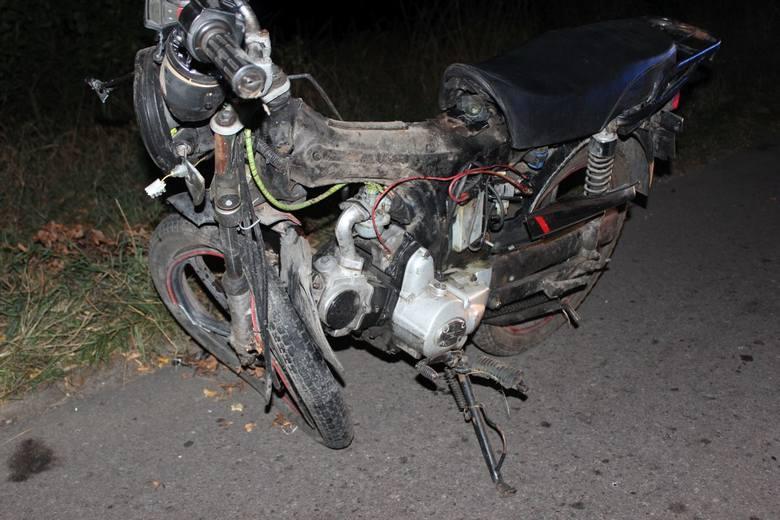 Policjanci wyjaśniają okoliczności wypadku do którego doszło w czwartek 9 sierpnia w miejscowości Rychnowo w powiecie grudziądzkim. Na miejscu zginął