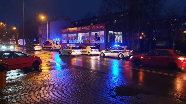 Do zdarzenia doszło w czwartek przed godz. 16 na ul. Grunwaldzkiej w Przemyślu na pasie ruchu w kierunku Ostrowa. - Kierujący peugeotem 206, 21-letni