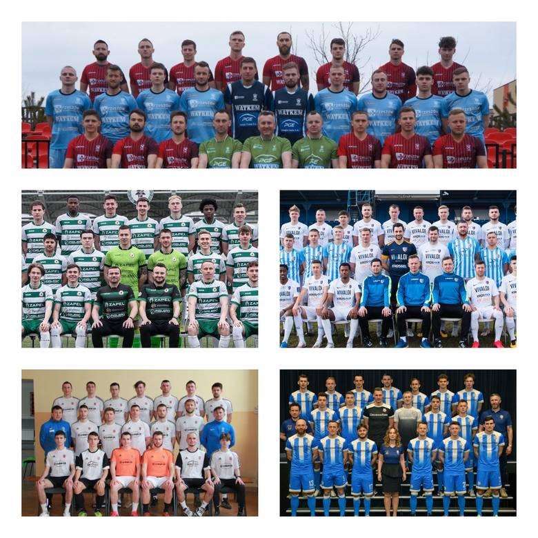Te zespoły awansowały do grupy mistrzowskiej i powalczą w rundzie wiosennej 4 ligi podkarpackiej o awans.