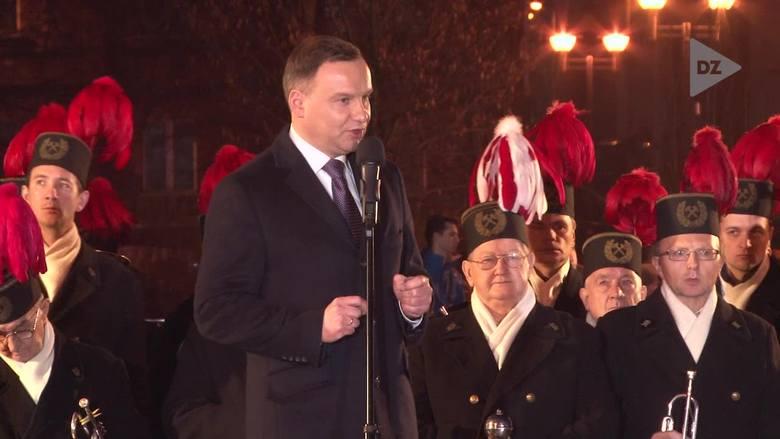 Wizyta prezydenta Andrzeja Dudy w Piekarach Śląskich