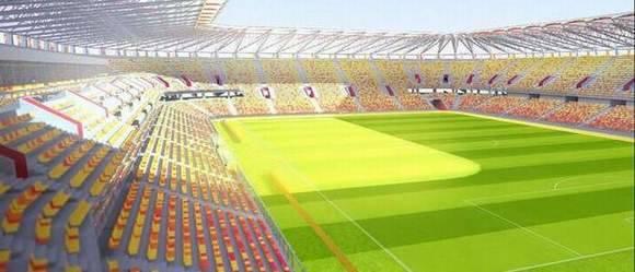Za dwa lata ma w tym miejscu powstać stadion na 22,5 tysiąca widzów, oświetlony i monitorowany. Będzie tu też boczne boisko, a także sale konferencyjne