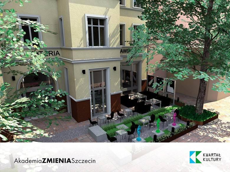 """Projekt """"Akademia Zmienia Szczecin"""" jest współfinansowany z Unii Europejskiej. Centrum Edukacji Artystycznej to wspólna przestrzeń"""