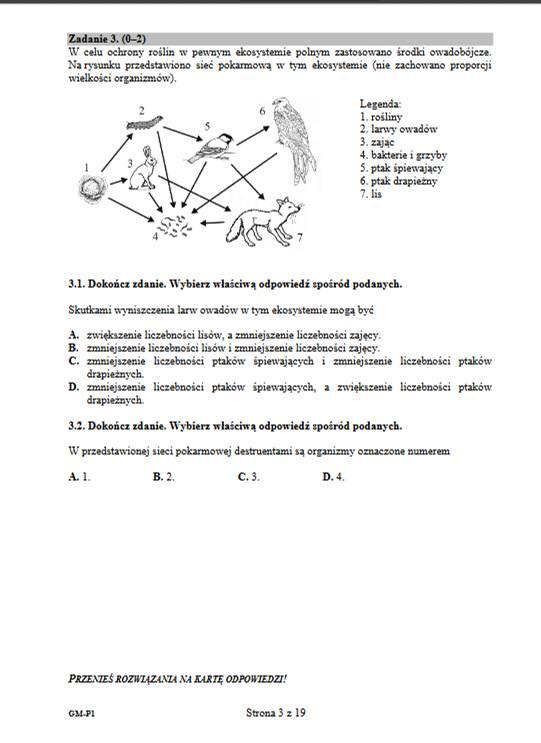 Matematyka Egzamin Gimnazjalny 2017 Odpowiedzi, Arkusz. Trudny test z biologii i chemii!