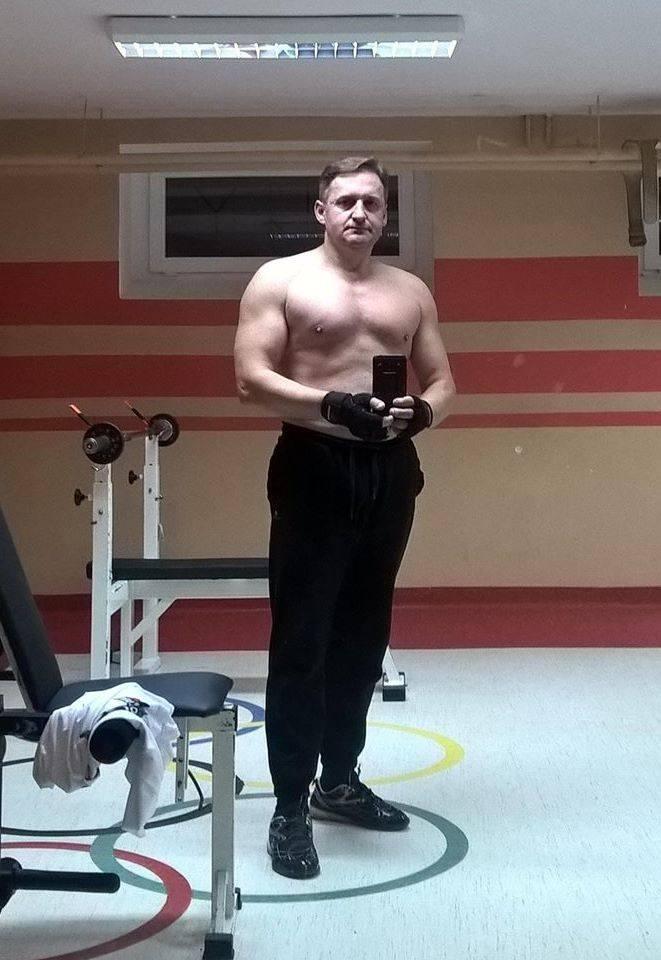 Wójt Bodzentyna, Dariusz Skiba od dwóch lat trenuje i rzeźbi sylwetkę
