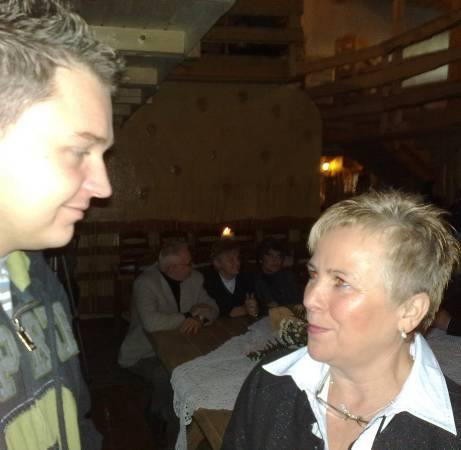 Inicjatorzy spotkania Grzegorz Hryniewicz i Jolanta Taberska