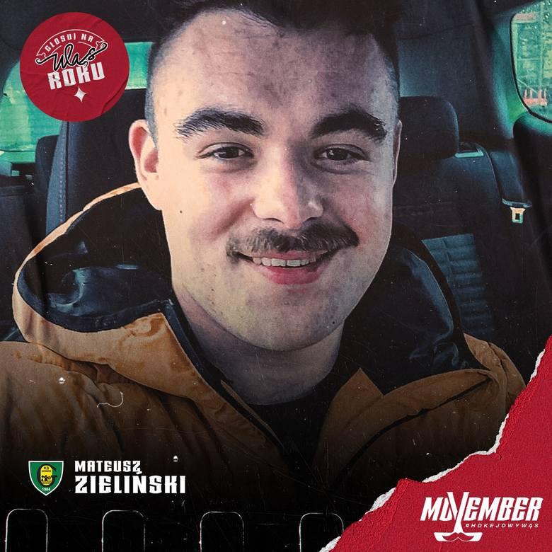 Hokeiści dla zdrowia! Nowa akcja klubów Polskiej Hokej Ligi. Facet z wąsem to naturalny ambasador akcji Movember. Wąs, niczym różowa wstążka, stał się