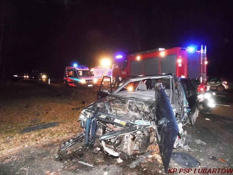 W wypadku w Czerwonce zginęła jedna osoba