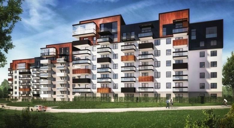 To budynek wielorodzinny 5-piętrowy z garażami, miejscami postojowymi i komórkami lokatorskimi. Jest tutaj ok. 150 mieszkań o zróżnicowanych powierzchniach.