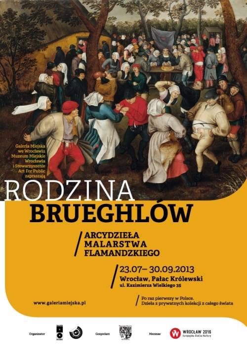 """Wystawa """"Rodzina Brueghlów"""": z biletem na Śląsk - Brugge taniej!"""
