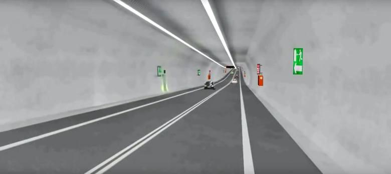 Tunel będzie miał 3,4 km długości.
