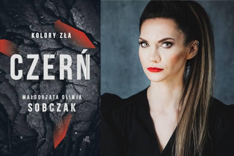 """Małgorzata Oliwia Sobczak i """"Czerń"""". Książka wkrótce sklepach. """"Ja też znalazłam swoje Gotham City"""""""