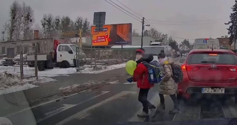 Do zdarzenia doszło 16 lutego na ul. Malwowej w Poznaniu.