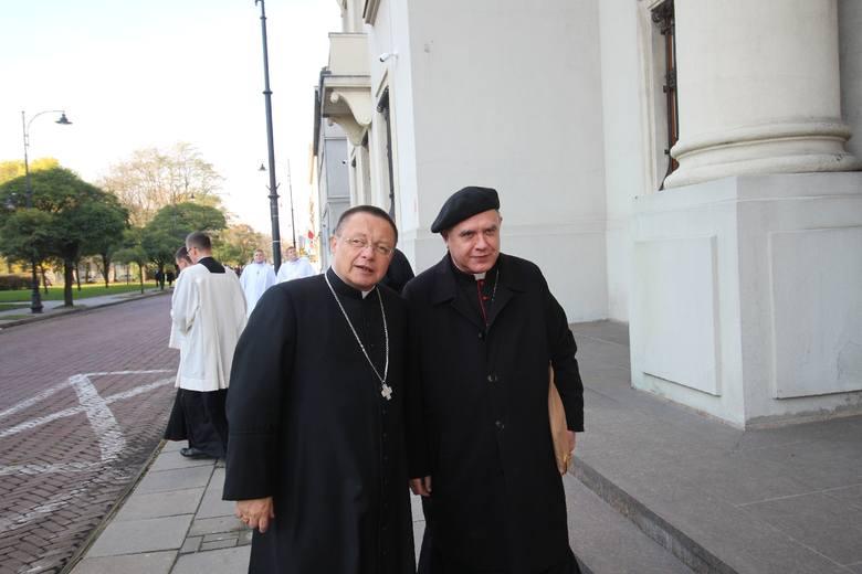 Ingres abp Grzegorza Rysia do łódzkiej archikatedry odbył się 5 listopada 2017 roku. Na uroczystość przybyło wielu kardynałów, biskupów z arcybiskupem