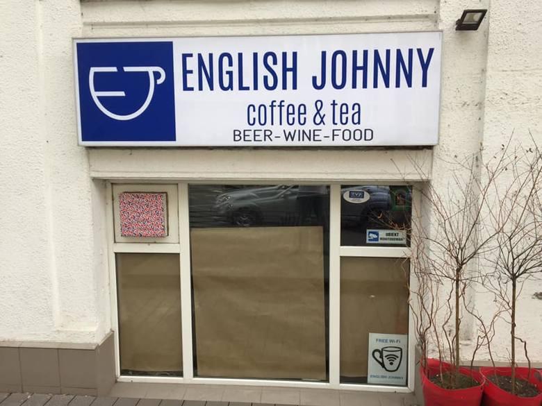 Kawiarnia English Johnny nie działa od soboty 23 marca. Jej właściciele twierdzą, że byli nachodzeni