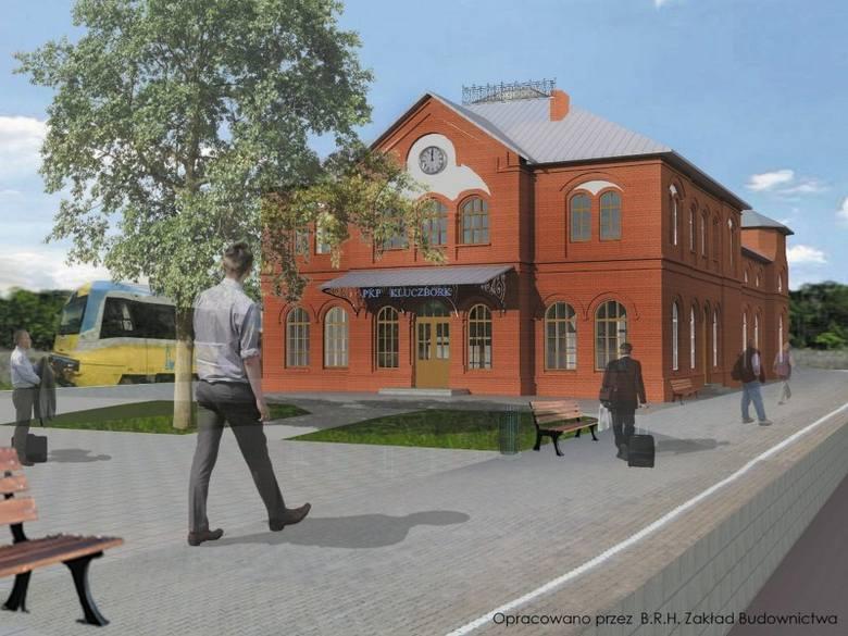 Jeszcze w tym miesiącu rozpocznie się modernizacja dworca kolejowego w Kluczborku. XIX-wieczny zabytkowy budynek zostanie poddany kompleksowej renow