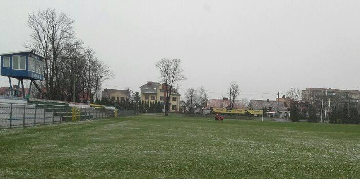 Stadion w Radzyniu Podlaskim wygląda nieźle.