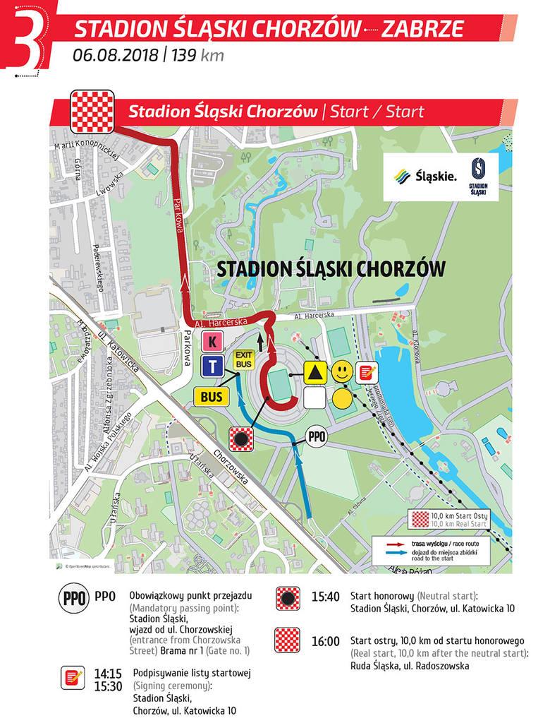 Tour De Pologne 2018 Etap 3 Stadion Slaski Chorzow Zabrze 139