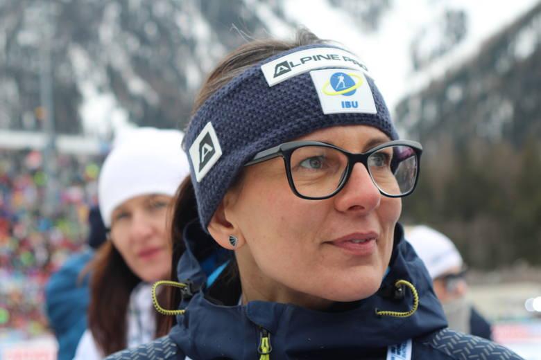 Dagmara Gerasimuk, prezes Polskiego Związku Biathlonu