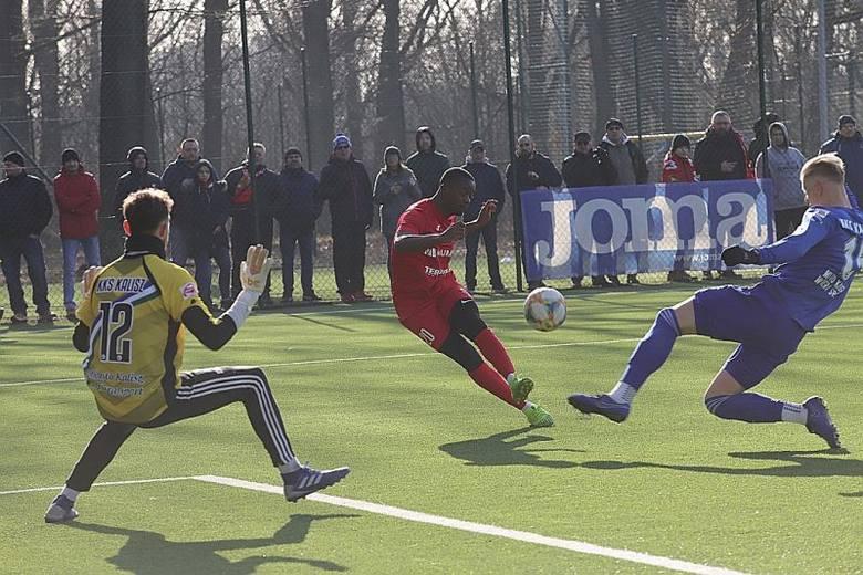Zobacz zdjęcia z dzisiejszego sparingu piłkarzy Widzewa [ZDJĘCIA]