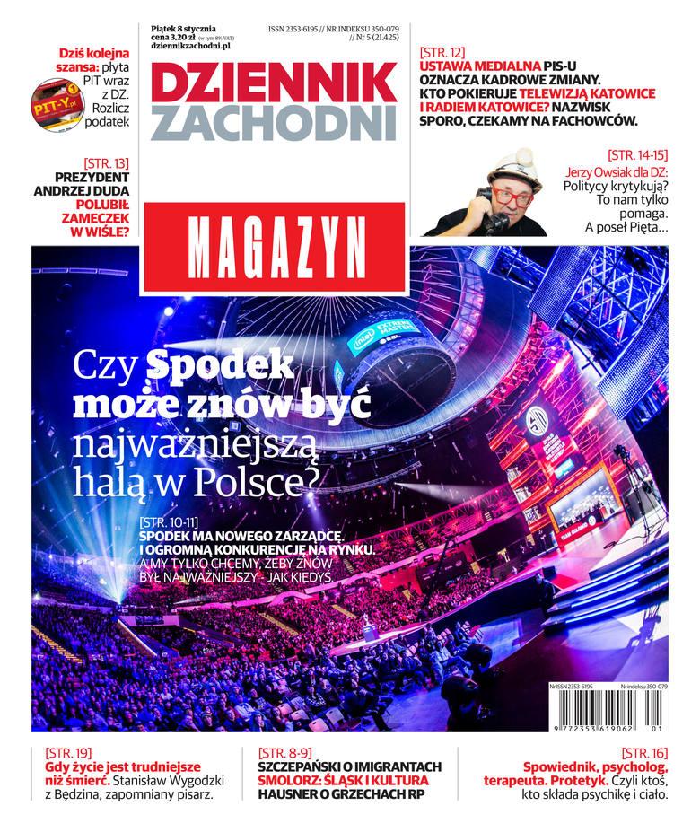 Zobacz, alternatywne okładki piątkowego magazynu Dziennika Zachodniego 8.01.2016