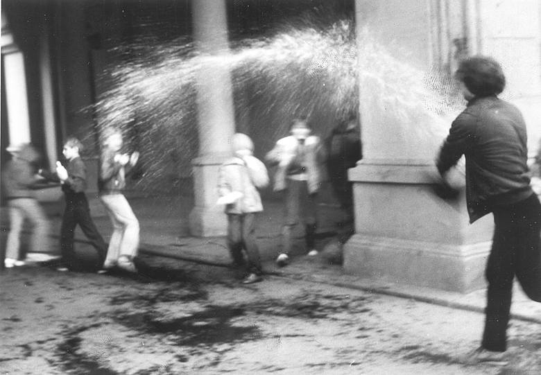 Lany poniedziałek 10 kwietnia 1985 r. we Wrocławiu
